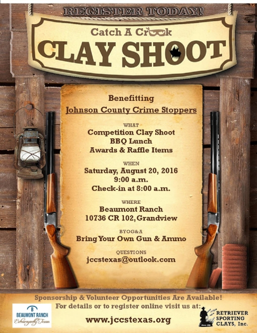 click the Clay Shoot tab on the left