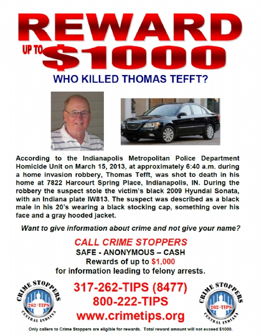 Who Killed Thomas Tefft